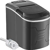 VEVOR Machine à Glaçons Portable 12kg par 24H Mini Commercial Ice Maker avec LCD (argenté)