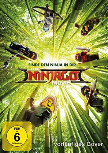 The LEGO Ninjago Movie (1 Disc, DVD)