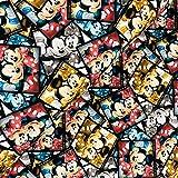 Swafing GmbH - Stoff - Lizenz Jersey Mickey & Minnie