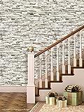 Printelligent Brick Wallpapers. High Quality Stone Brick Wall Effect Pre Gummed Wallpaper (Self Adhesive) wallpaper 67