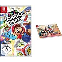 Super Mario Party - [Nintendo Switch] + Mario Kart Live: Home Circuit - Notebook A4