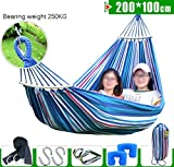 hammock Hammock, For Camping, Hiking, Backpacking, Kayaking Travel, hammock hammo,backyard hammock , hammock portable, hammocks parachute hammock ,hammock garden camping hammock ( Color : B , Size : 200*100cm )