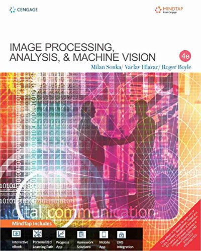 Image Processing, Analysis and Machine Vision with MindTap