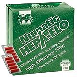 Original Numatic George GVE370 Staubsauger Hepa-Flo Staubsaugerbeutel, 10 Stück (10 Duft geeignet)