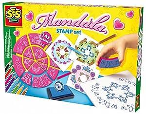 SES Creative - 14916 -Kit de tampons Mandala