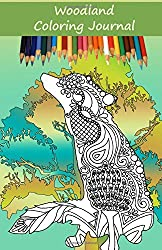Woodland Coloring Journal