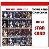 Star Wars Force Attax Serie 3- Juego de cartas (20 unidades, alemán)