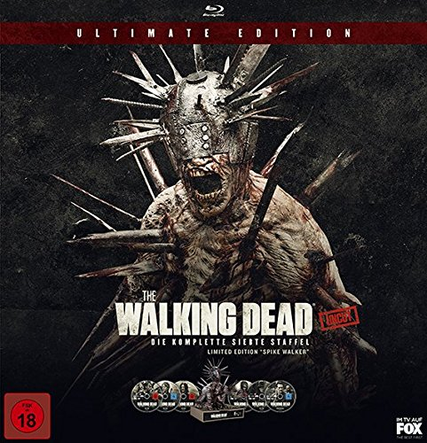 The Walking Dead - Die komplette siebte Staffel + Spike Walker (exklusiv bei Amazon.de) [Blu-ray]