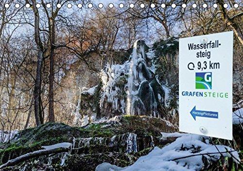 Wassserfallsteig Urach - Grafensteige 2017 (Tischkalender 2017 DIN A5 quer): Wasserfallsteig bei Bad Urach (Monatskalender, 14 Seiten ) (CALVENDO Natur)