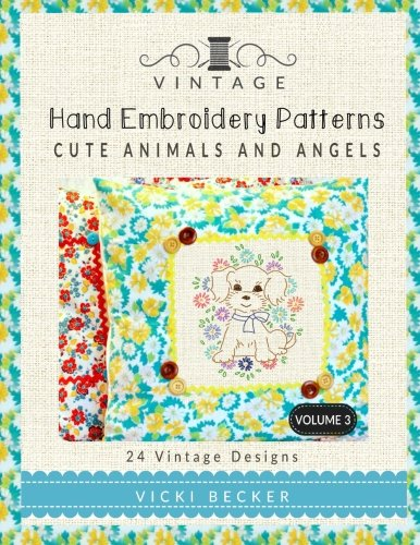Vintage Embroidery Patterns Animals Angels