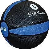 Sveltus-Palla per fare esercizio, colore: blu, 4 kg