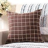 Kopfkissen einfach und modern/Kissen des Sofa/Kopfkissen von Office/Bett Kissen/Designer Lendenwirbel Kissen, E, 30x50cm(12x20inch)VersionA