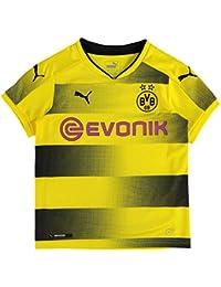 Borussia Dortmund 17/18 Enfants - Maillot de Foot Domicile - Jaune/Noir