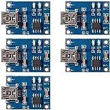 5X Mini USB 5V Micro USB1A Module Chargeur batterie Au lithium Chargeur Linéaire de bord TP4056 TE106