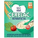 #8: Nestlé Cerelac Fortified Baby Cereal with Milk – 12 Months+, Stage 4, Multigrain Dal Veg, 300g