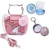 Le Delite / unicorn sling bag /sling bag for girls kids /sipper for girls kids /unicorn glitter sling bag/unicorn sequin bag/