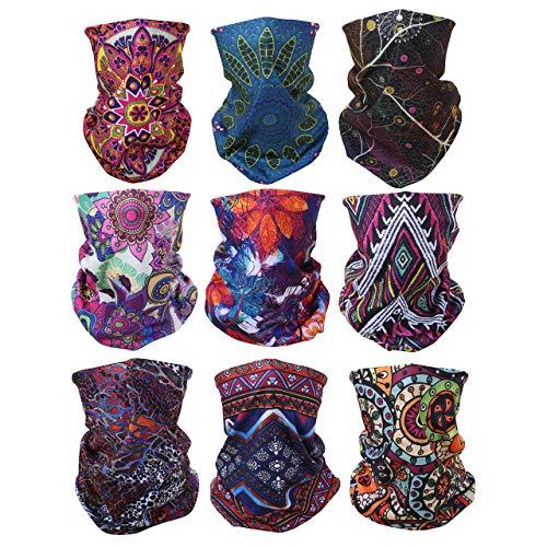 Graceme Maske Motorrad Multifunktionstuch Halstuch Handtuch Bandana für Halloween