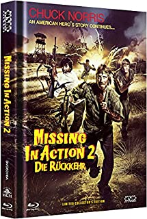 Missing in Action 2 - uncut (Blu-Ray+DVD) auf 444 limitiertes Mediabook Cover A [Limited Collector's Edition]