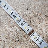 RGBW LED-Streifen (RGB+KW) 24V-14,4W/m- IP00-CRI80-SMD5050-10m Rolle