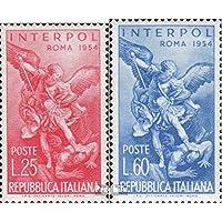 Timbres pour collectionneurs: Italie 917-918 (complète.Edition.) neuf avec gomme originale 1954 interpol-Conférence