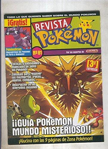 Revista pokemon numero 081