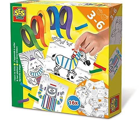 Ses - 14810 - Kit de Loisir Créatif - J'apprends à Coller