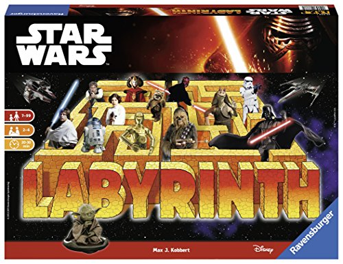 Ravensburger 26666 - Labirinto Star Wars, Special Edition
