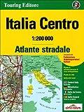 Italy Central atlas - atlante stradale Centro tci (r) (Touring Club Italiano)