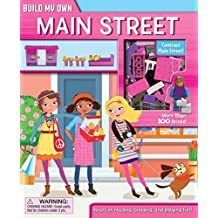 Build My Own Main Street: Build My Own Books with Building Bricks by Gina Shaw (2015-02-10)