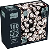 Brite Ideas Festive Productions Connectable 100 LED Lights - White