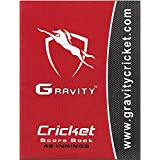 Gravity Cricket Scorebook, 48 Innings