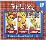 Felix 3-CD Hörspielbox Vol. 2: Zirkusbriefe von Felix, Weltbeste Briefe von Felix, Felix bei den Kindern dieser Welt (Hörspielboxen)