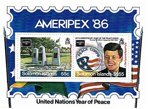 Stamp presidente Kennedy per collezionisti - Nazioni