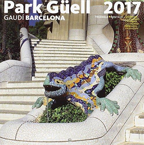 Calendari 2017 Park Güell petit por Aa.Vv.