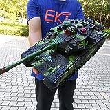 Luccky Pro Metal Tracks 2,4 GHz Emulational British Challenger 2 RC Kampfpanzer mit Rauch- und...