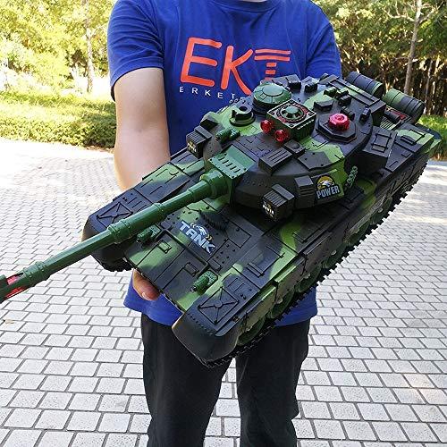 Luccky Pro Metal Tracks 2,4 GHz Emulational British Challenger 2 RC Kampfpanzer mit Rauch- und Soundeffekt RC Panzer mit Ladekabel Fernbedienung Panzer Deutscher Tiger Spielzeug Weihnachtsgeschenk