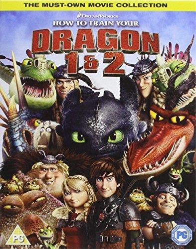 How To Train Your Dragon / How To Train Your Dragon 2 (2 Blu-Ray) [Edizione: Regno Unito] [Italia] [Blu-ray]