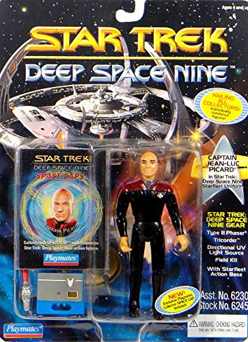 Ds9 Uniform (Captain Jean-Luc Picard in DS9 Starfleet Uniform - Actionfigur - Star Trek Deep Space Nine von)