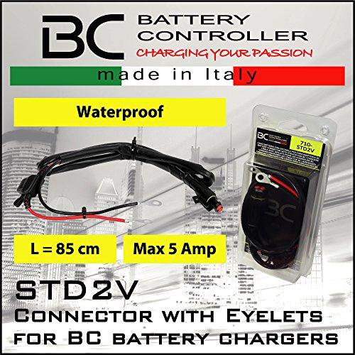 BC-Battery-Controller-710-STD2V-Connettore-Batteria-con-Occhielli-per-Caricabatteria-BC