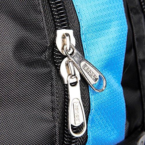 Sport All'aria Aperta Di Xin.S Sacchetto Di Spalla Di Grande Capacità Borsa Da Viaggio Per L'alpinismo Svago Zaino Dello Stoffa Di Oxford Camminata Viaggio Zaino Multifunzionale Blue