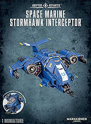 Space Marine Stormhawk Interceptor 48-42 - Warhammer 40,000