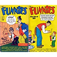 """The Funnies issues 21 & 22. Features Tim McCoy Featured In """"Code of the Rangers"""" Out Our Way, Alley Oop, Four Aces, Ben Webster, Wonderland of Oz,Bronc ... comedy and humour comics) (English Edition)"""