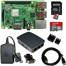 Raspberry Pi 3 Model B+ Bundle XXL 32GB (Schwarz)