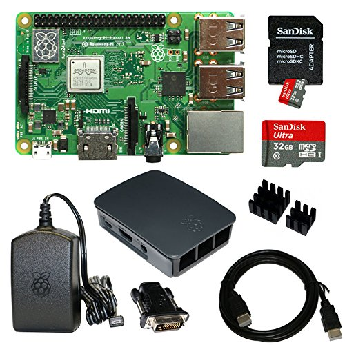 Raspberry Pi 3 Model B+ Bundle XXL 32GB (schwarz) (Raspberry Model Pi Bundle B)