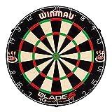 Winmau Blade 5 Dual Core Dartboard mit stärker verdichtetem Innenkern