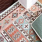 Amberzcy Teppich-Teppiche, für Fußmatte Geben Sie die Tür Matte Haushalt Nach Maß Moderne Schlafzimmer Footpad Haupteingang Hall (Farbe : B, Größe : 78*120cm)