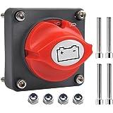 OFNMY Batterij-scheidingsschakelaar, hoofdschakelaar, 12 V/24 V, batterijscheidingsschakelaar, 300 A, aan/uit-batterijschakel