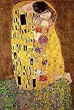 Gustav Klimt Der Kuss' Maxi Poster',61 x 91.5 cm