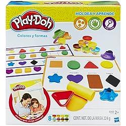 Play-Doh- Aprende Colores y Formas, Multicolor, 20 x 22 cm (Hasbro B3404105)