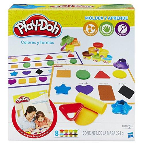 Play-Doh - Aprende Colores y Formas (Hasbro B3404105)